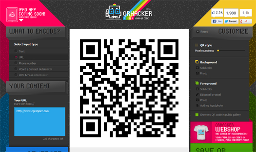 Create-Beautiful-QRCodes-With-QRhacker