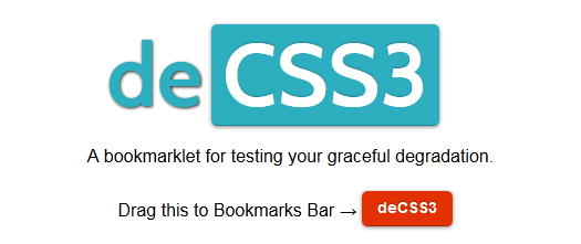 Free-Bookmarklet-For-Testing-CSS3-Graceful-Degradation