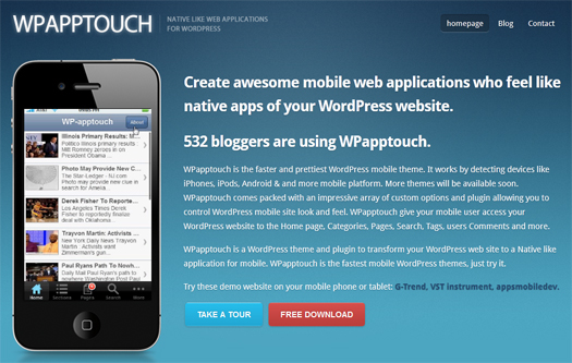 Free-WordPress-Mobile-Theme-and-Plugin-WPapptouch