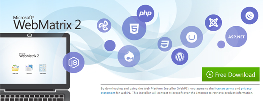 Web-Development-Tool-From-Microsoft-WebMatrix