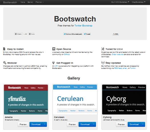 Free-Themes-For-Twitter-Bootstrap-Bootswatch
