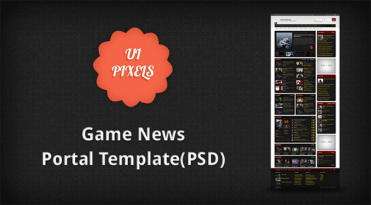 Game-News-Portal-Free-PSD-Template