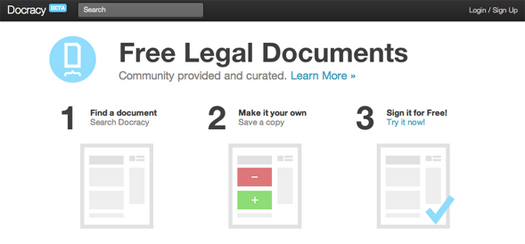 Github-For-Legal-Documents-Docracy