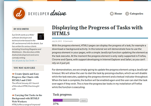 Displaying-the-Progress-of-Tasks-with-HTML5
