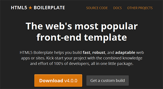 HTML5-Boilerplate-The-Most-Popular-Front-end-Template