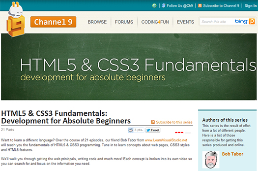 HTML5-CSS3-Fundamentals-Development-for-Absolute-Beginners