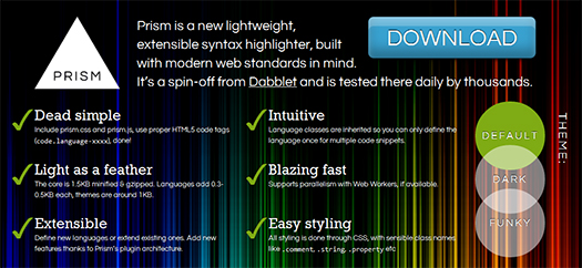 Lightweight,-Extensible-Syntax-Highlighter-Prism