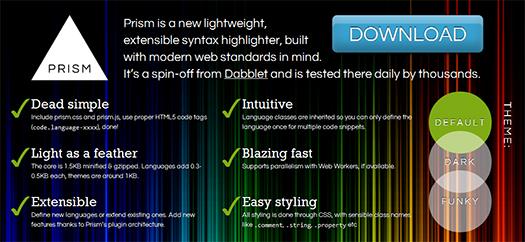 Lightweight,-Extensible-Syntax-Highlighter-Prism