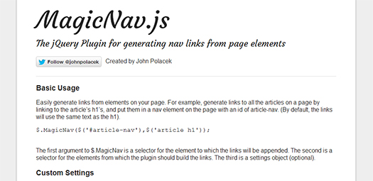 Generating-Nav-Links-From-Page-Elements-MagicNav-js
