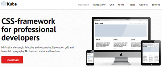Responsive-CSS-Framework-For-Professionals-Kube