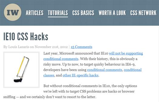 IE10-CSS-Hacks
