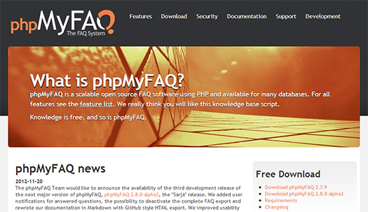 open-source-php-faq-software-phpmyfaq