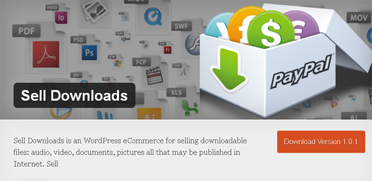 WordPress Plugin for Selling Downloadable Files - Sell Downloads