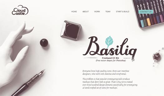 Basiliq Freehand UI Kit