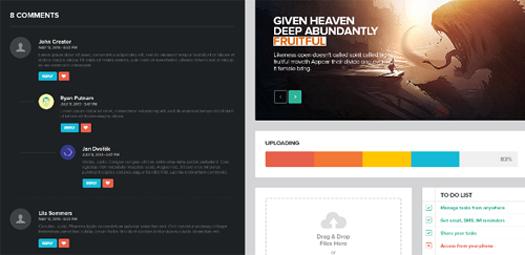 Modern UI Kit for Web Designers