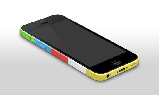iPhone 5c Template