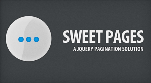 Sweet Pages A jQuery Pagination Solution