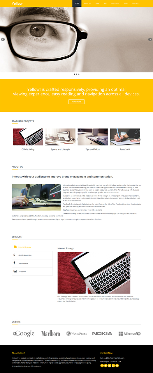 free-download-html-responsive-template-yellow