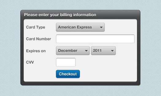 jQuery Credit score Card Validation Plugin