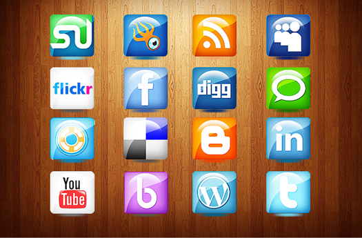 Free Social Media Icons for Web