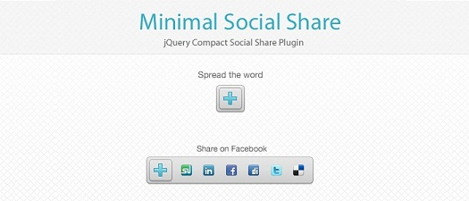 jQuery Social Media Share and Bookmark Plugin: jsShare