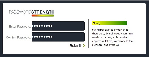 jQuery Password Strength Checker Plugin