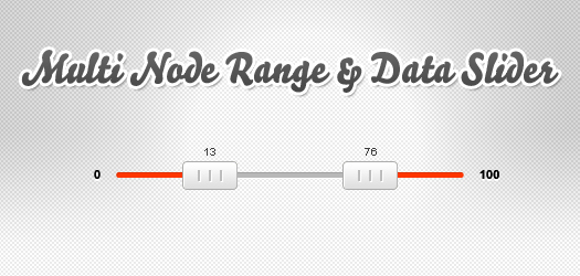 Free Multi-Node range and data slider:jQSlider