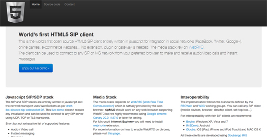 Open-Source-HTML5-SIP-Client-sipml5