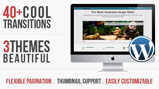 WordPress Picture Slider Plugin With Cool Transition Results