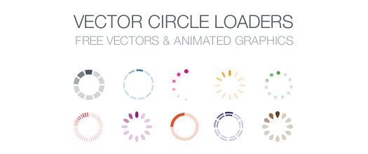 Free-Vector-Circle-Loaders