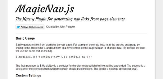 Generating-Nav-Links-From-Page-Elements-MagicNav-js