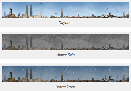 Live-Weather-Display-Using-CSS-jQuery-and-PHP