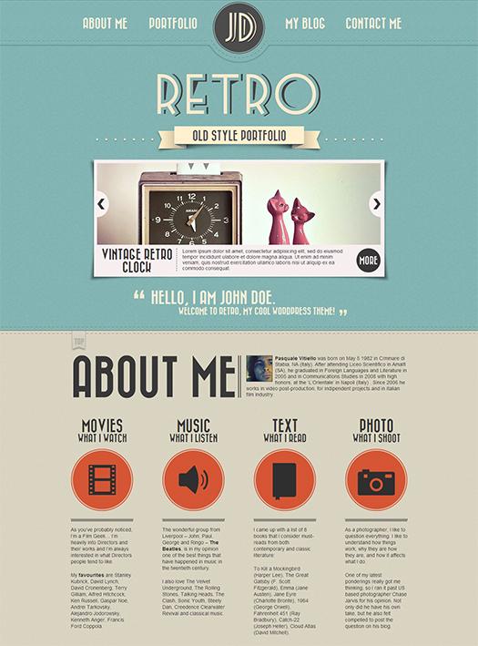 Retro-Portfolio-Premium-Site-Free-PSD