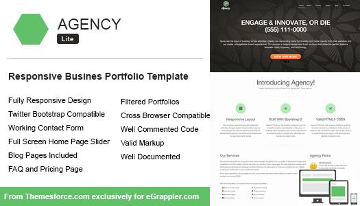 Responsive Enterprise Portfolio Template