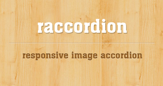 jquery responsive accordion image slider raccordion