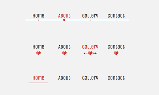 CSS-only-Lavalamp-like-Fancy-Menu