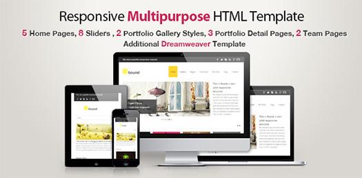 Responsive-Multipurpose-HTML-Premium-Template-Bound