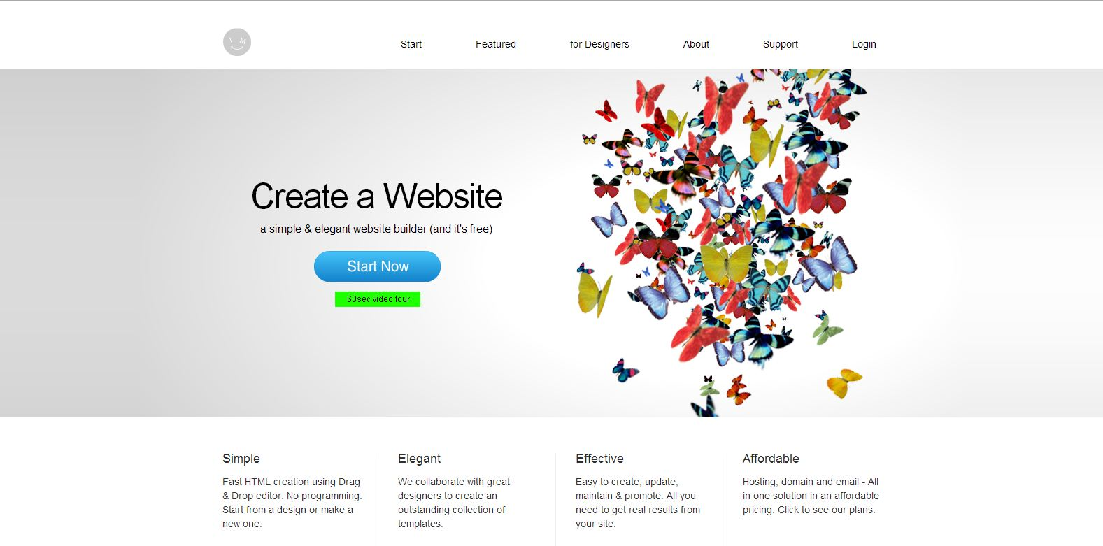 how to create a website without being a developer