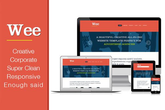 A Premium Responsive Portfolio Business HTML Template Wee