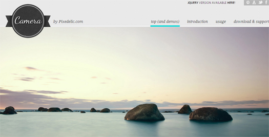 Responsive WordPress Slideshow Plugin - Camera