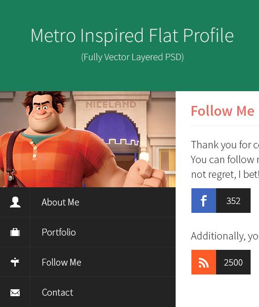 metro-style-inspired-flat-profile-psd