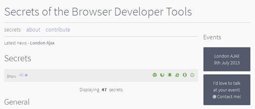 Dev Tools Secret