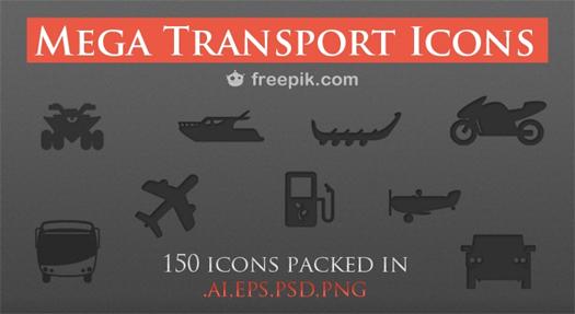 Free Transport Icons