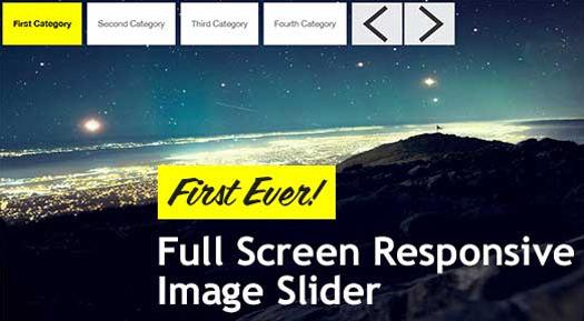 18 [Free] Open Source Responsive Image / Content Sliders