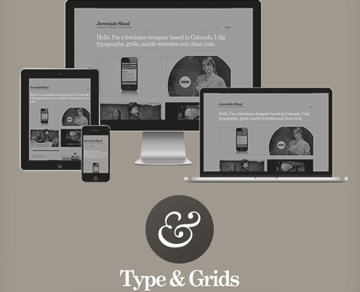 Type & Grids Free Responsive HTML5 Template