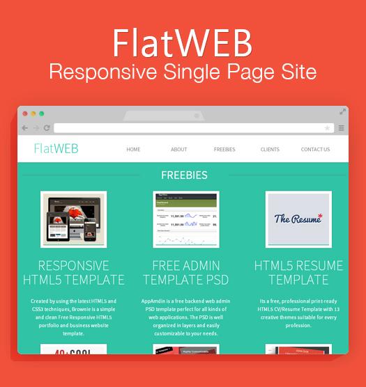 FlatWeb Theme