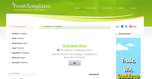 download free html newsletter templates - Html Templates Free Download