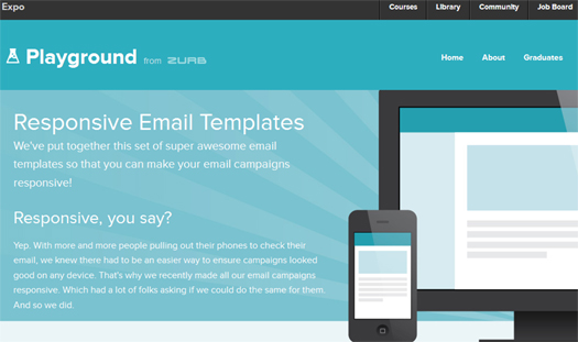 Free Responsive HTML E Mail Enewsletter Templates EGrappler - Newsletter html template