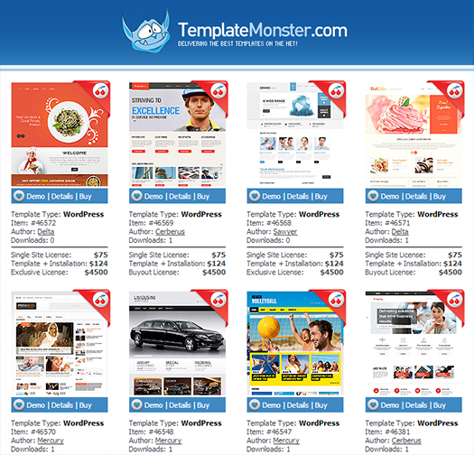 Giveaway: Win 1 of three WordPress Themes from TemplateMonster for ...