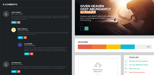 Modern UI Kit for Web Designers